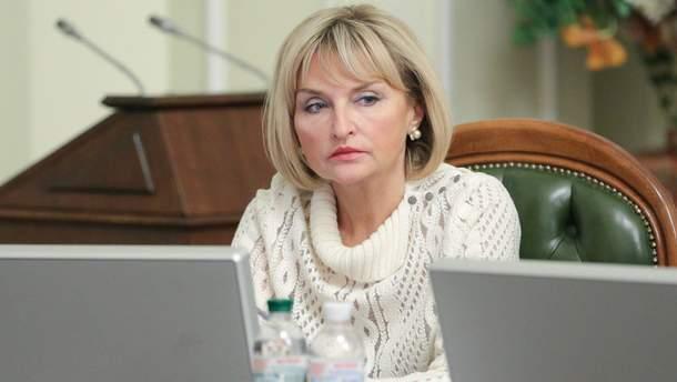 Луценко розповіла про робзробки в Порошенка через вибухи біля Ічні