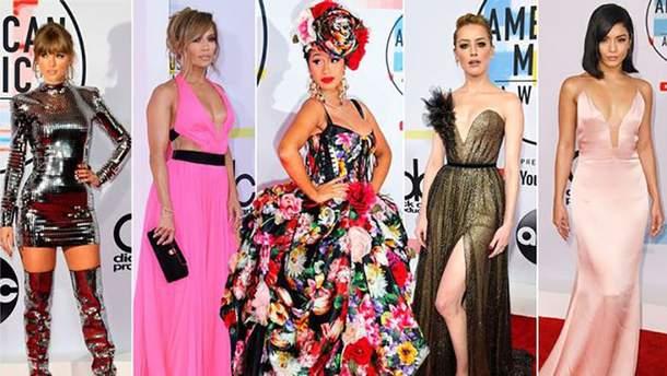 American Music Awards 2018: фото с красной дорожки