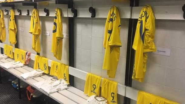 Форма сборной Украины перед матчем с Италией