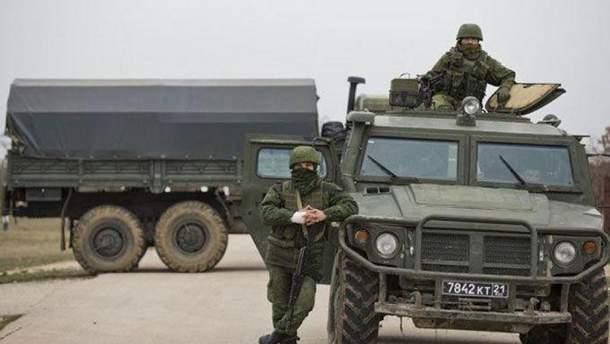 Российская техника в Крыму