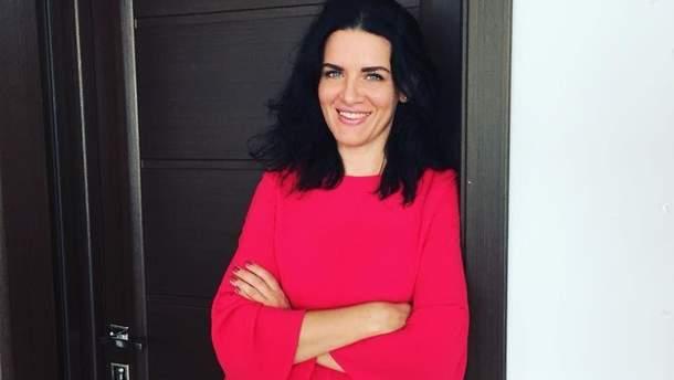 Речниця міністра інфраструктури Марина Томко