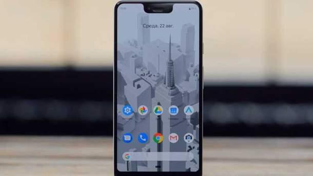 Смартфон Google Pixel 3 XL получил лучший дисплей