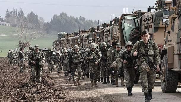 Туреччина вивела важке озброєння з провінції Ідліб
