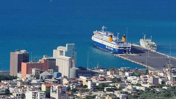Порт Суда, остров Крит