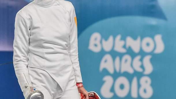 Катерина Чорній виграла дві золоті медалі юнацьких Олімпійських ігор