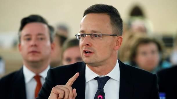 Глава МИД Венгрии упрекнул Западную Европу ее бизнес-связями с Россией