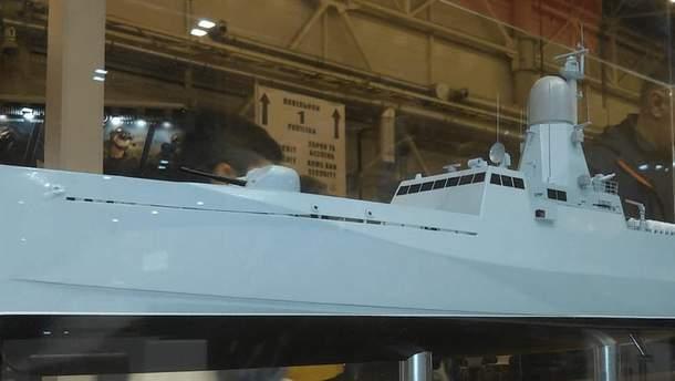 ВМС Украины получат новый ракетный катер