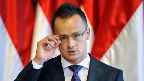 """Сійярто заявив, що поскаржиться США і НАТО на """"найтемніші диктатури"""" в Україні"""