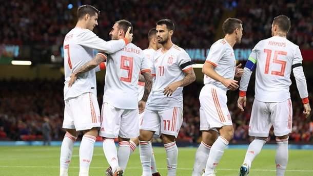 Уэльс – Испания видео голов и результат матча