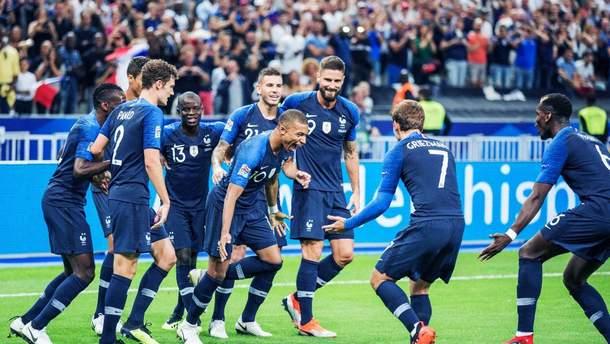 Франція – Ісландія товариський матч