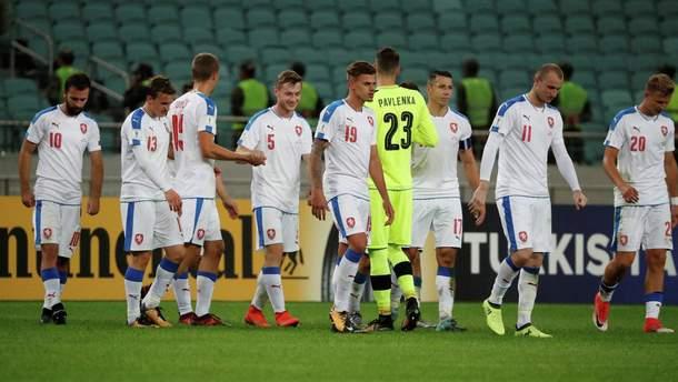 Сборная Чехии по футболу потеряла пять футболистов