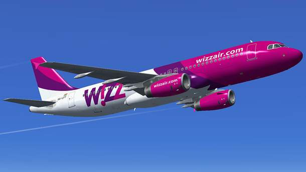 Wizz Air анонсировала очередной рейс из Украины