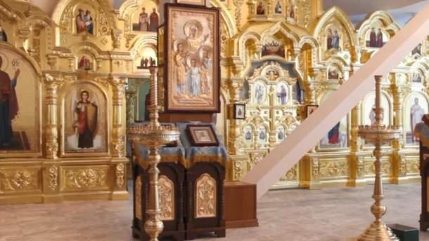 Капличку Пшонки роздали у храми Московського патріархату