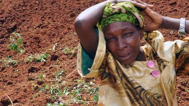 Оползень в Восточной Уганде: более 30 погибших, дома разрушены (иллюстративное фото)