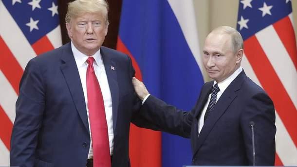 У Москві назвали можливу дату зустрічі Путіна і Трампа