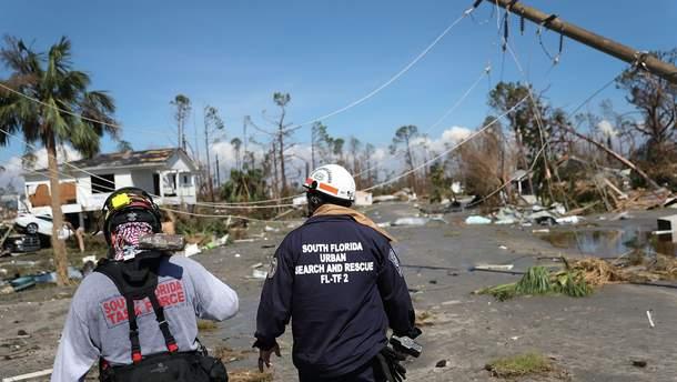 """Ураган """"Майкл"""" накрыл восточное побережье США"""