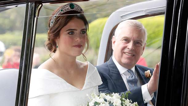 Свадьба принцессы Евгении и Джека Бруксбенка