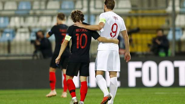 Хорватия – Англия видео голов и обзор матча