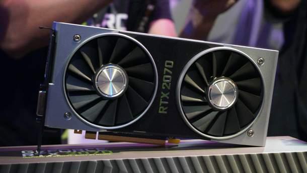 NVIDIA GeForce RTX 2070: результати швидкодії