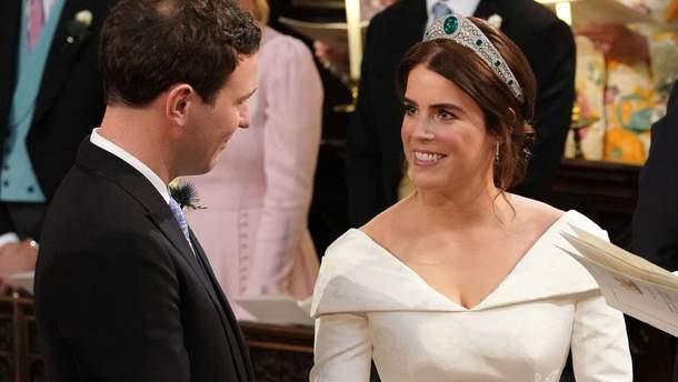 Принцеса Євгенія та Джек Бруксбенк обмінялись обручками