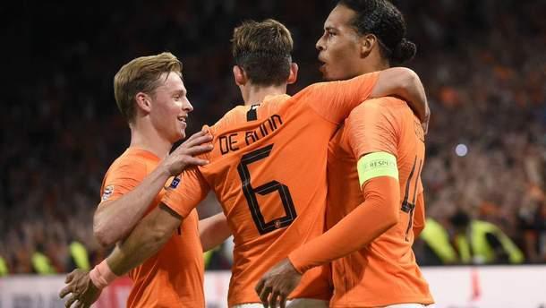 Нидерланды – Германия видео голов
