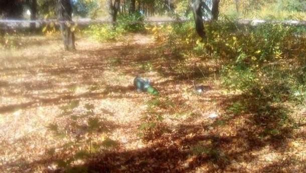 Часть ракеты упала на двор школы в Лисичанске