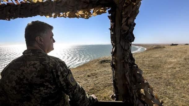 Порошенко ввів у дію рішення РНБО про захист України у Чорному та Азовському морях