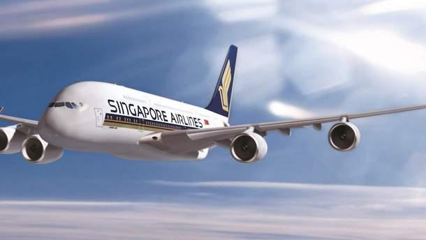 Авіакомпанія Singapore Airlines виконала найдовший рейс усвіті
