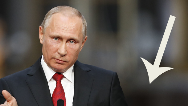 Популярність чинного керівника РФ просто обвалилась
