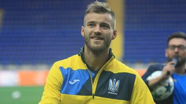Андрій Ярмоленко відновився після травми