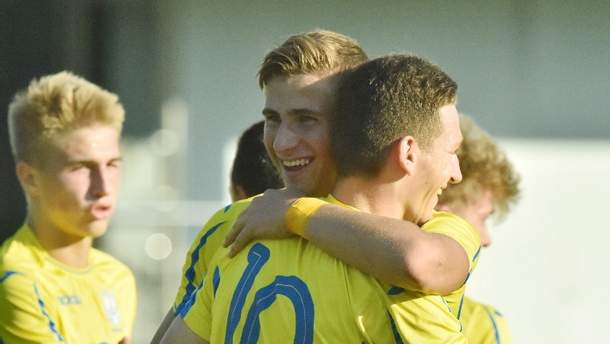 Україна U-17 розгромила однолітків з Гібралтару