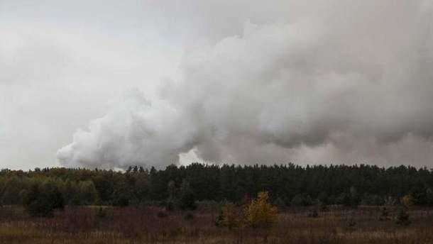 На арсеналі під Ічнею зросла інтенсивність вибухів