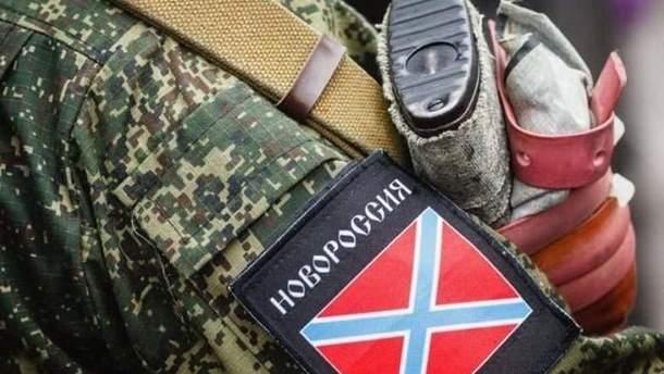 """В Конотопе на праздничном концерте ветеранов войны на Донбассе """"поздравили"""" видео с пророссийскими боевиками"""