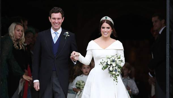 Свадьба принцессы Евгении и Джека Бруксбенка: официальные фото
