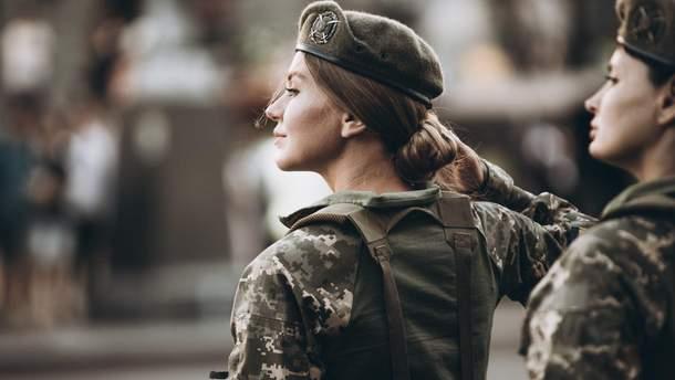 У ЗСУ служать понад 55 тисяч жінок