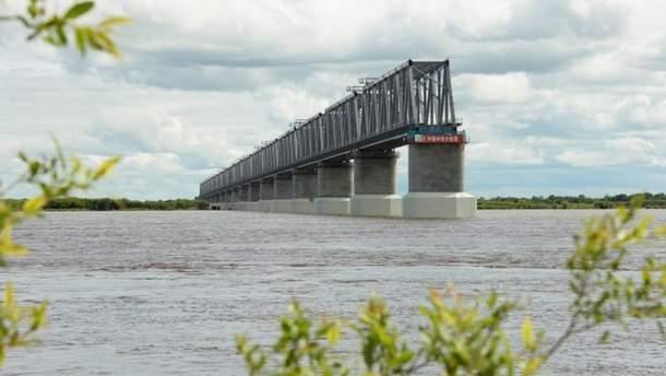 Общий мост через Амур: Китай построил 17 пролетов, Россия не успевает со своими 3