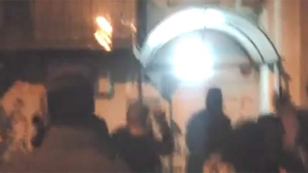 Націоналісти намагалися атакувати офіс Медведчука у Києві, але, імовірно, помилися адресою