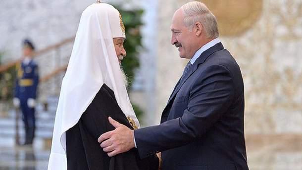 """Глава  РПЦ подякував Лукашенку за """"чудові"""" взаємини влади і церкви"""