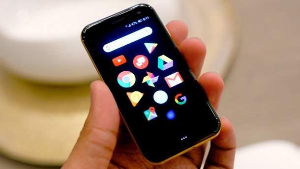 Мініатюрний смартфон  Palm