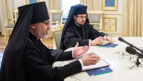 Екзархи Константинополя готові працювати над останнім етапом надання Томосу Україні