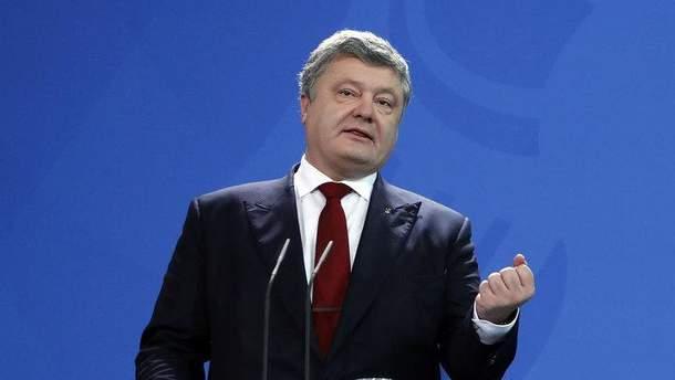 Порошенко розповів про провокації, які РФ готувала в Україні 14 жовтня