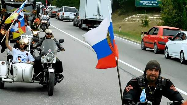 """""""Ночных волков"""" задержали в Черногории"""