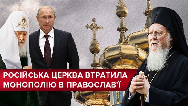 Російська церква розриває стосунки  материнською церквою
