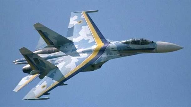 В Винницкой области упал Су-27