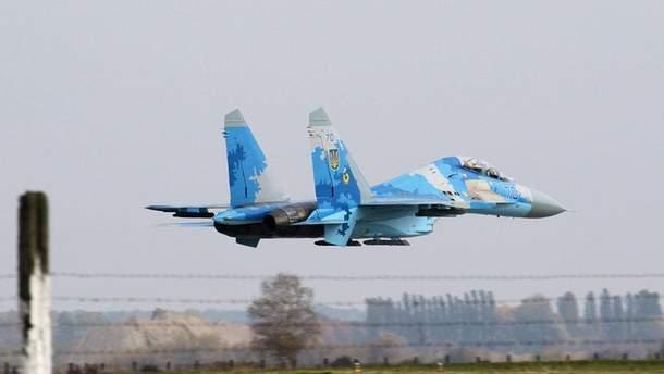 Су-27 упал в Винницкой области 16 октября