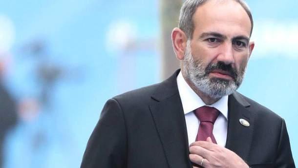 Пашинян подав у відставку