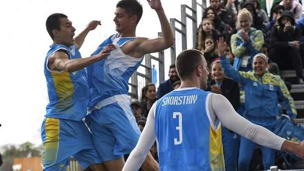 Сборная Украины по баскетболу 3х3 вышла в полуфинал ЮОИ-2018