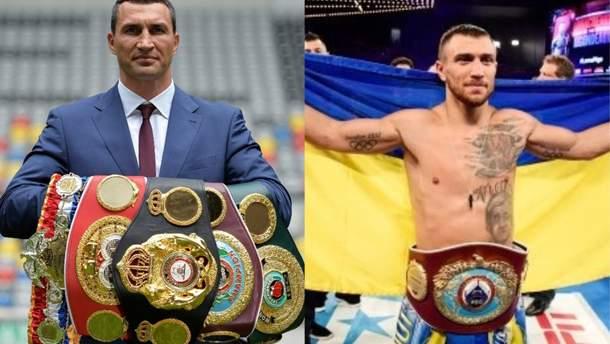 Володимир Кличко і Василь Ломаченко визнані найкращими боксерами XXI століття
