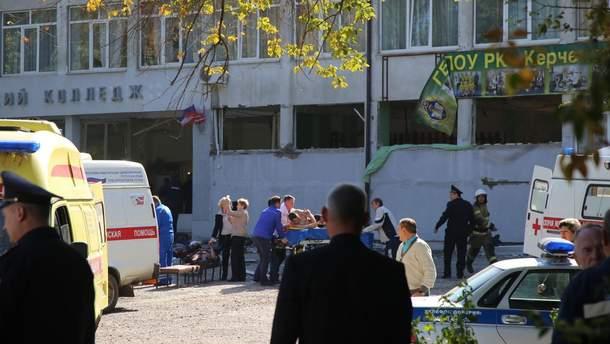 Стрілянина у Керчі: відео 18+