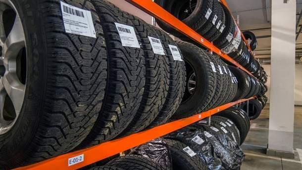 Где и как хранить шины